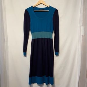 Boden Blue Sweater Dress Size 12R